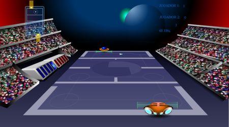 Screenshot - Galactic Tennis