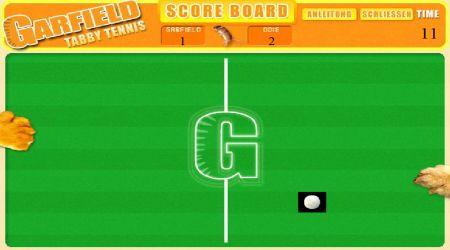 Screenshot - Garfield Tabby Tennis