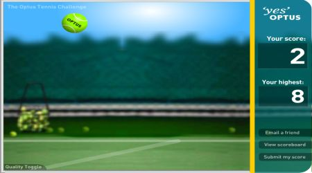 Screenshot - Optus Tennis Challenge