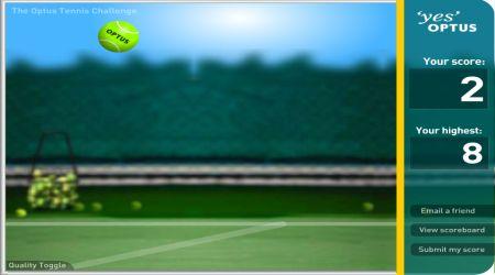 Screenshot - Optus Tennis Challenge