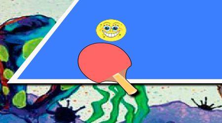 Screenshot - Table Tennis Spongebob