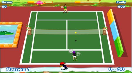 Screenshot - Twisted Tennis